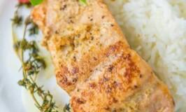 Lemon Garlic Butter Salmon Recipe