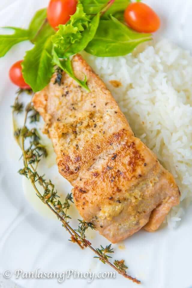 lemon garlic butter salmon