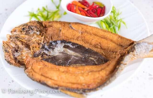 daing na bangus recipe - marinated milkfish