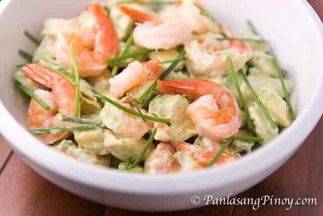 shrimp avocado salad