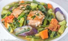 Utan Bisaya (Boiled Vegetables)