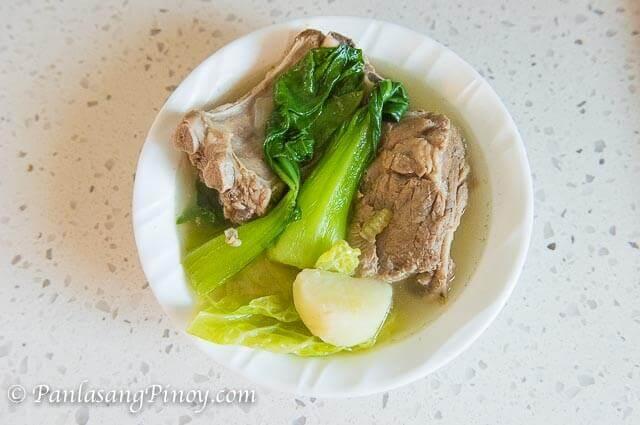 Pork Baby Back Ribs Nilaga Recipe - Panlasang Pinoy