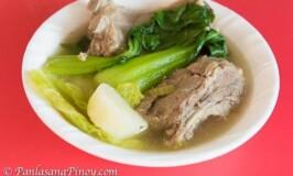 Pork Baby Back Ribs Nilaga Recipe
