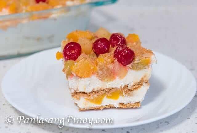 fruit cocktail float recipe