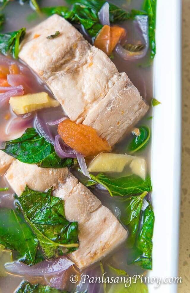 sinabawang isda at gulay recipe