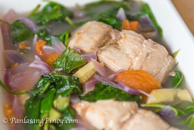 Sinabawang isda at gulay panlasang pinoy for Fish recipe panlasang pinoy