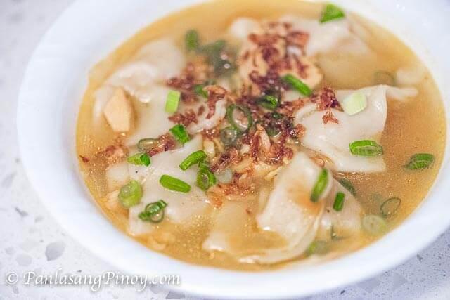 pancit molo soup