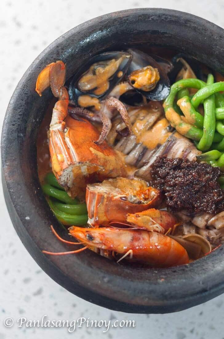 Seafood Kare Kare_