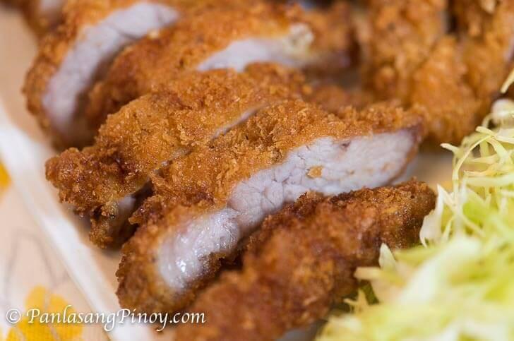 How to Fry Tonkatsu