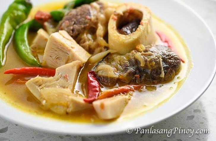 Cansi - Ilonggo Bulalo and Sinigang