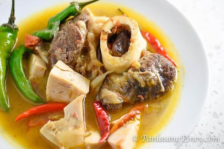 Cansi Recipe (Ilonggo Bulalo and Sinigang Combined ...