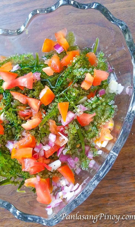 Lato Sea Grapes Salad Recipe