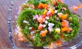 Seaweed Salad Recipe (Ensaladang Lato)