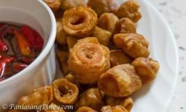 Crispy Bagbagis (Crispy Deep Fried Pork Intestine)