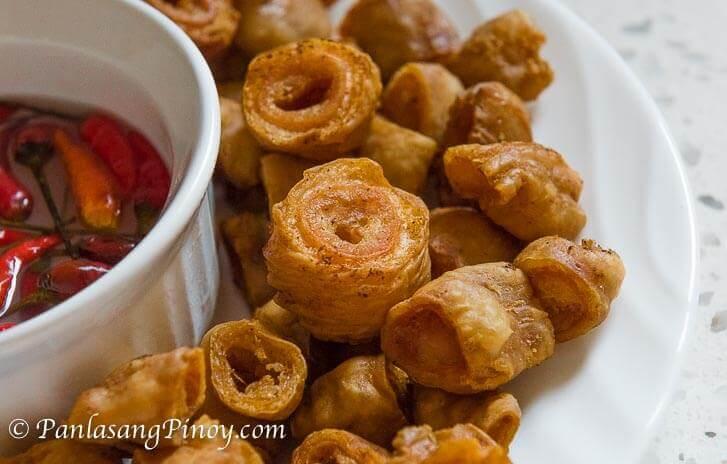 Crispy Bagbagis - Deep Fried Pork Intestine