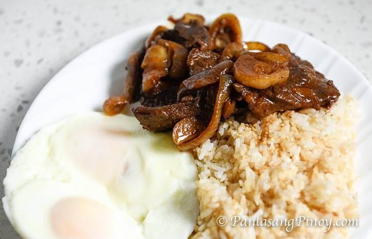 Bistek Silog - Pinoy Beef Steak