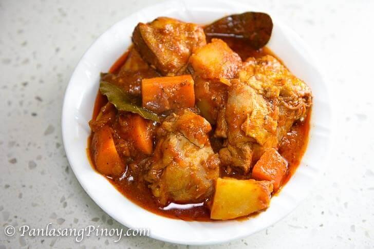 Basic Chicken Afritada
