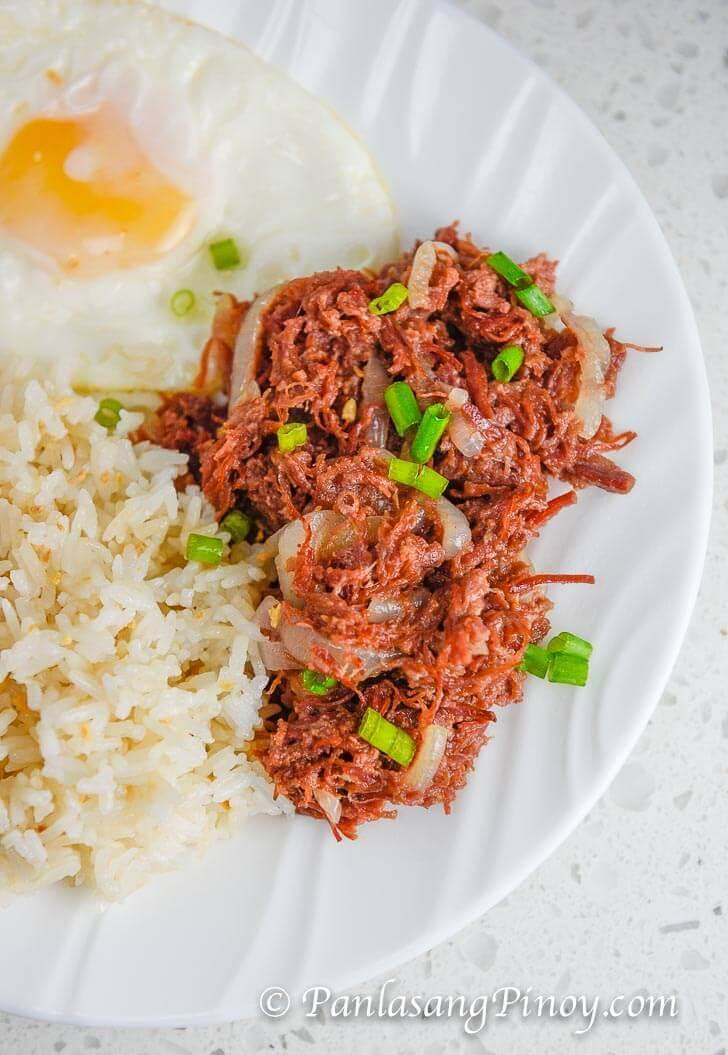 Corned Beef Silog Recipe