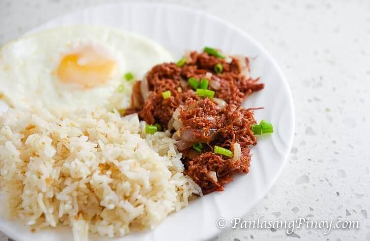 Corned Beef Silog