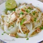 Ginisang Tuna Recipe (Canned Albacore Tuna Sauteed with Onions)