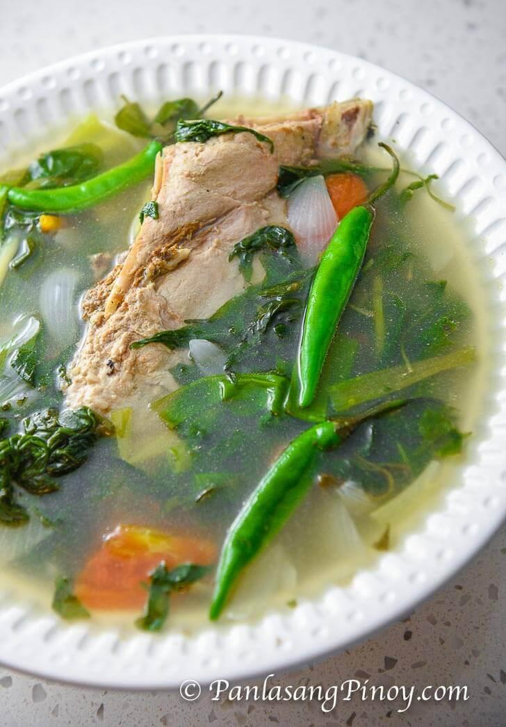 Panlasang Pinoy Tinolang Isda Recipe - Tuna Panga