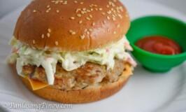 Pork Cheeseburger