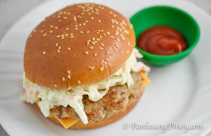 Pinoy Cheeseburger
