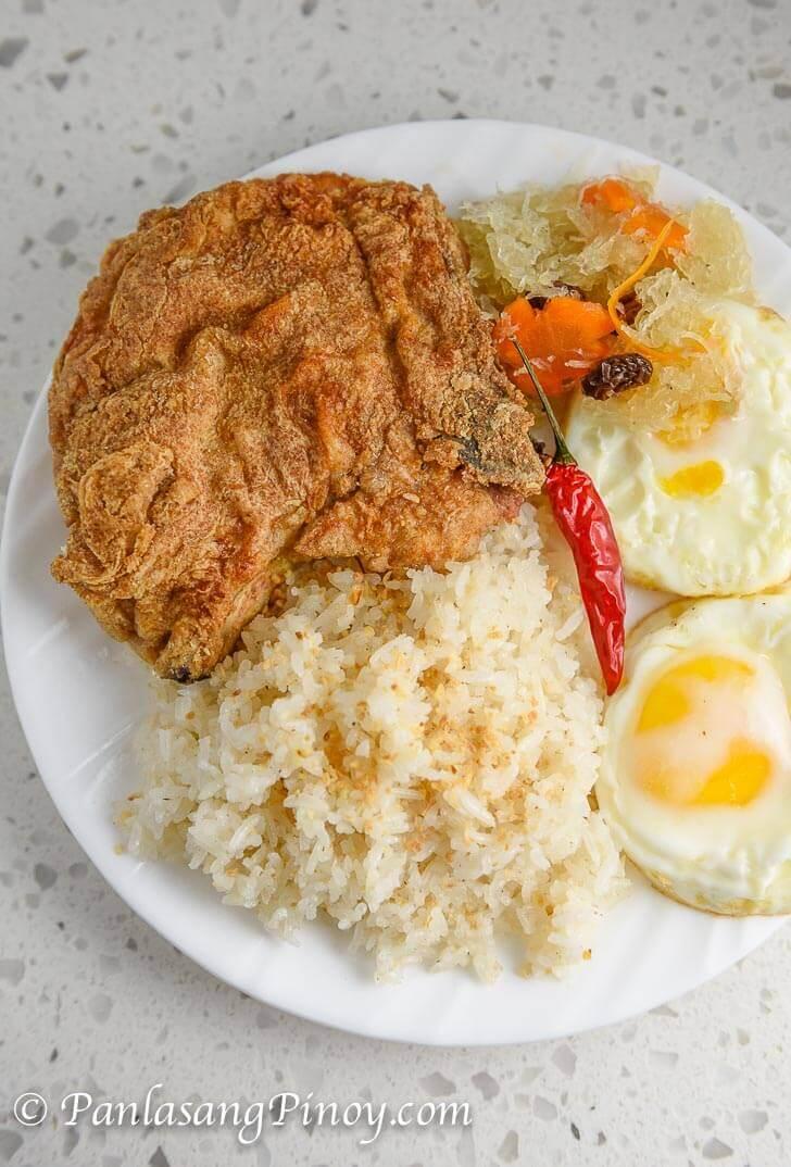 Pork Chop Silog