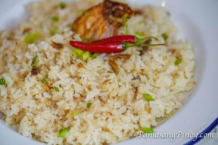 Danggit Fried Rice