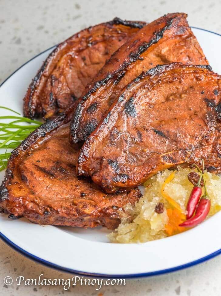grilled pork chop recipe panlasang pinoy Marinated Grilled Pork Chop - Panlasang Pinoy