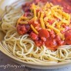 Panlasang Pinoy Spaghetti