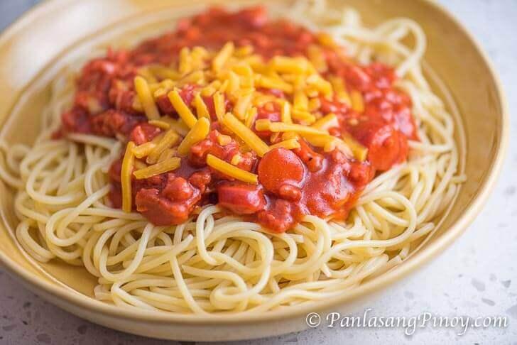 Panlasang Pinoy SpaghettiPanlasang Pinoy