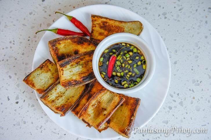 Pinoy Fried Talong