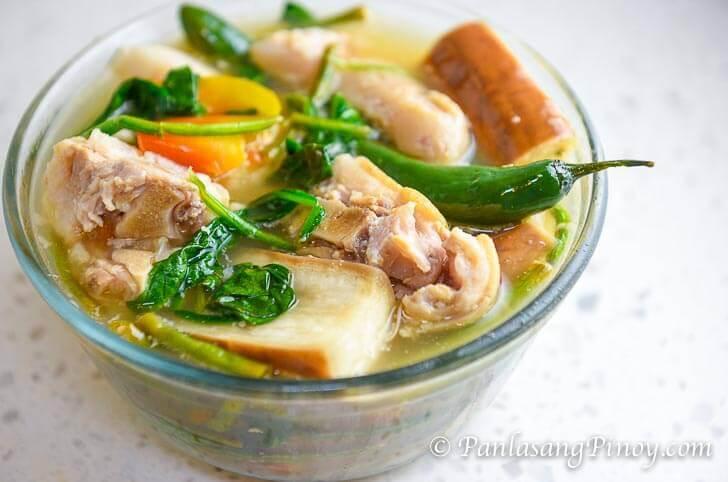 Pork Sinigang - Sinigang na Buntot ng Baboy