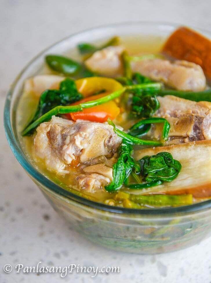 Pork Sinigang (Pigtail Sinigang)
