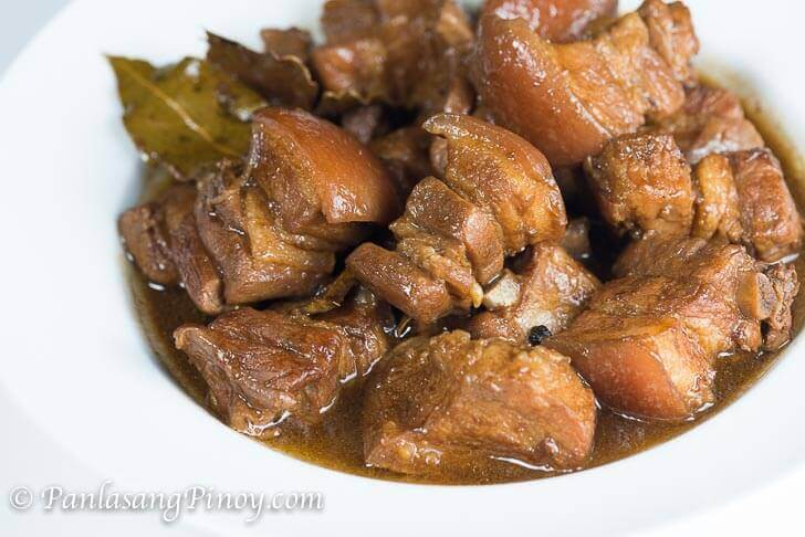 Basic Pork Belly Adobo