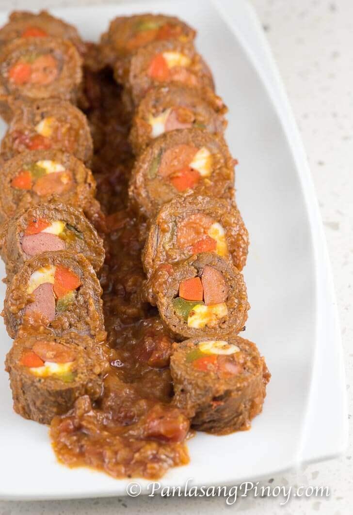 Beef Morcon Recipe