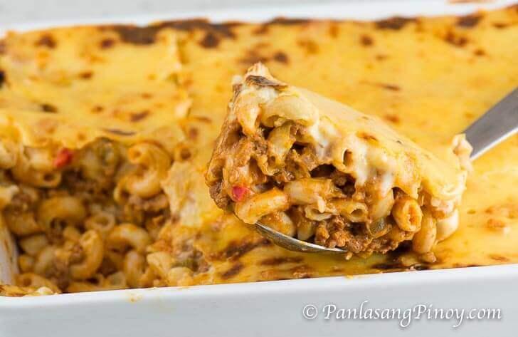 Cheesy Baked Macaroni Recipe