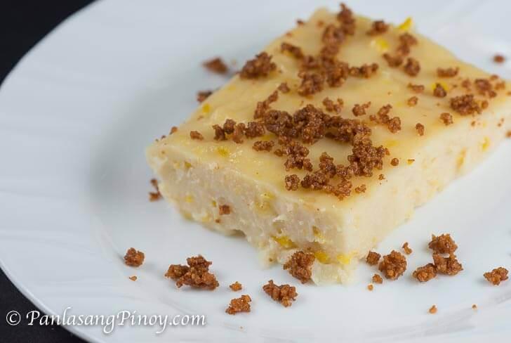 creamy maja blanca recipe