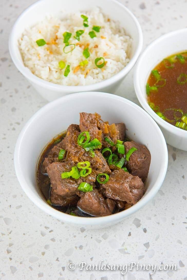 Crockpot Beef Pares Recipe - Panlasang Pinoy