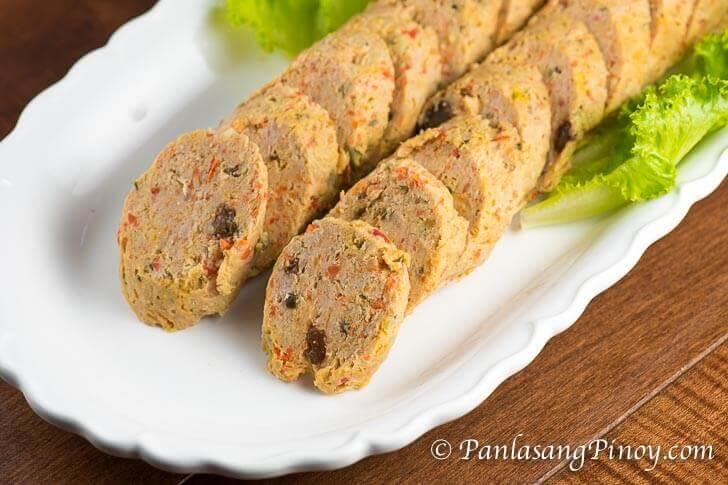 Embutido - Filipino Meatloaf