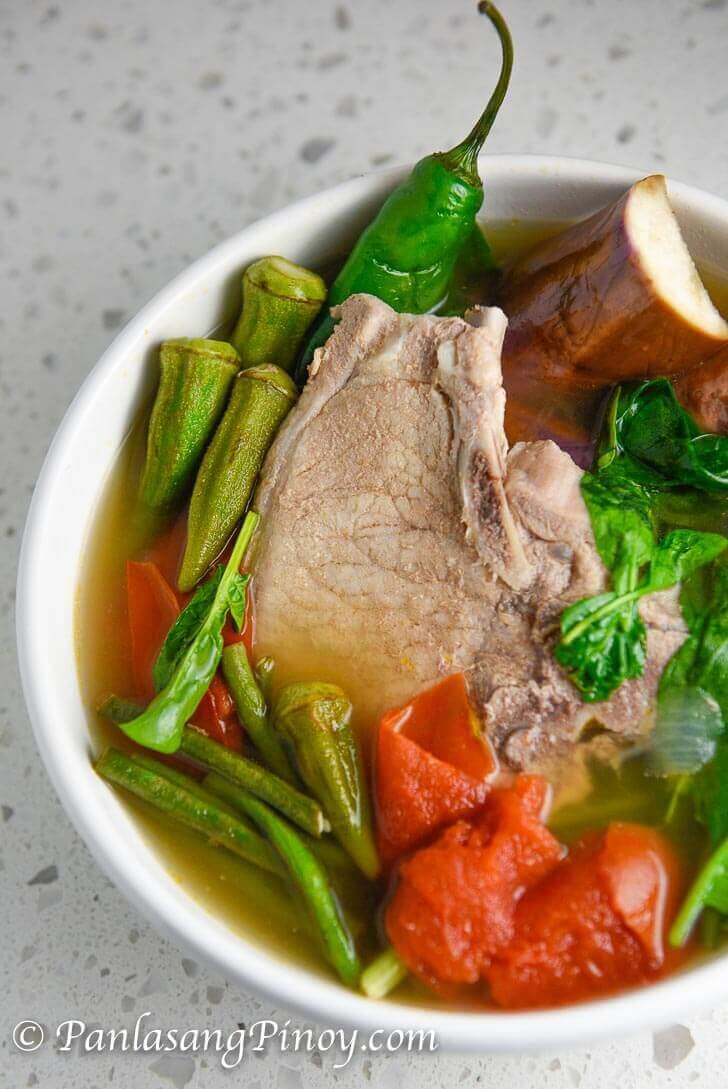 Pork Chop Sinigang - Panlasang Pinoy