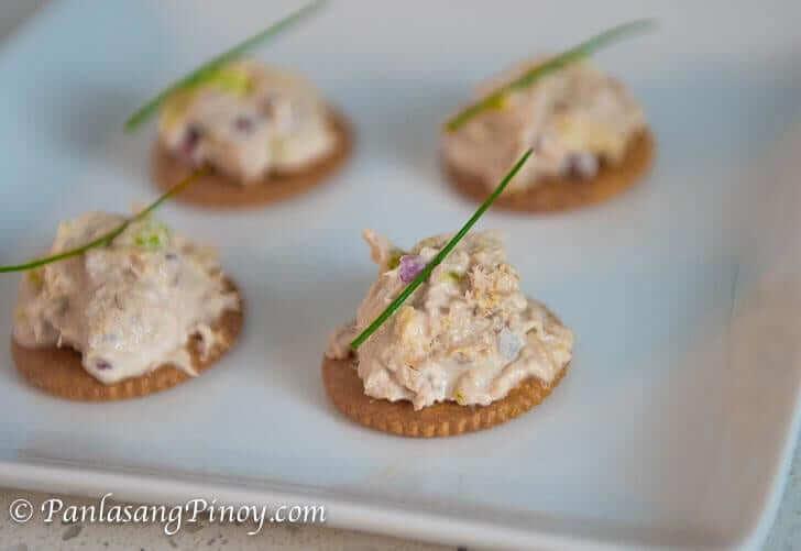 How to Make Tuna Salad Crackers