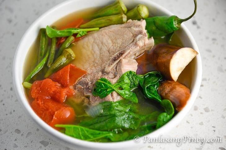 Pork Chop Sinigang
