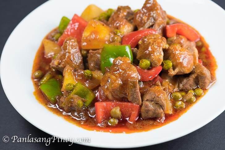 Pork Mechado - Panlasang Pinoy
