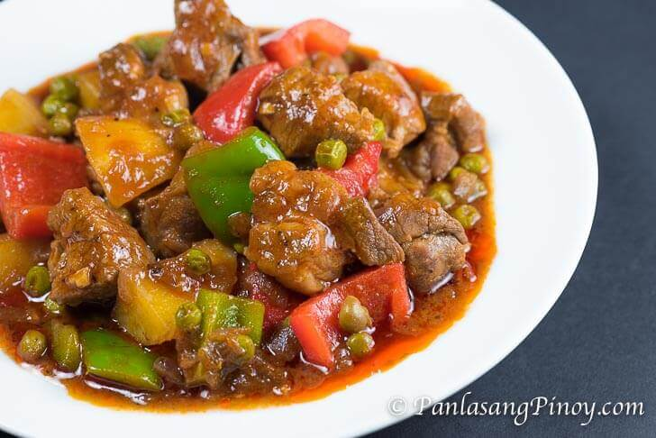 Pork Mechado Recipe - Panlasang Pinoy