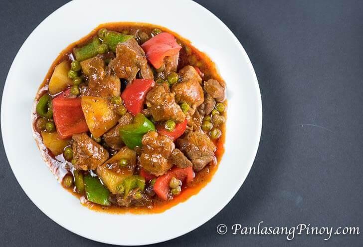 Pork Mechado Recipe