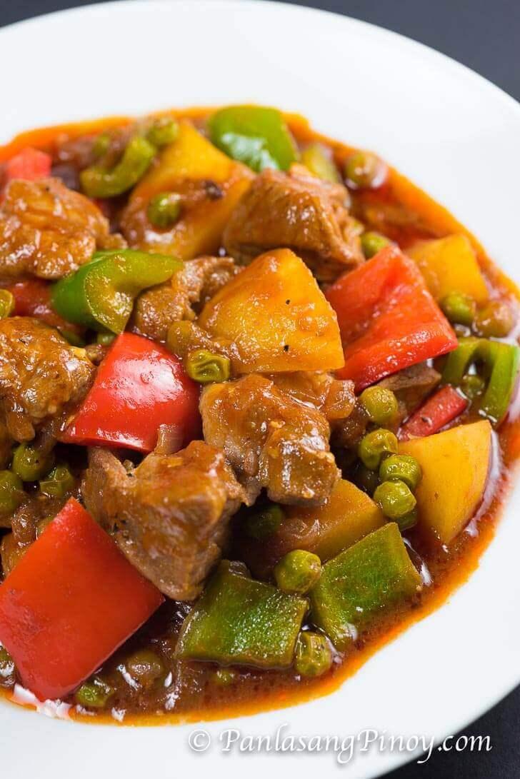 Chicken Mechado Recipe Del Monte