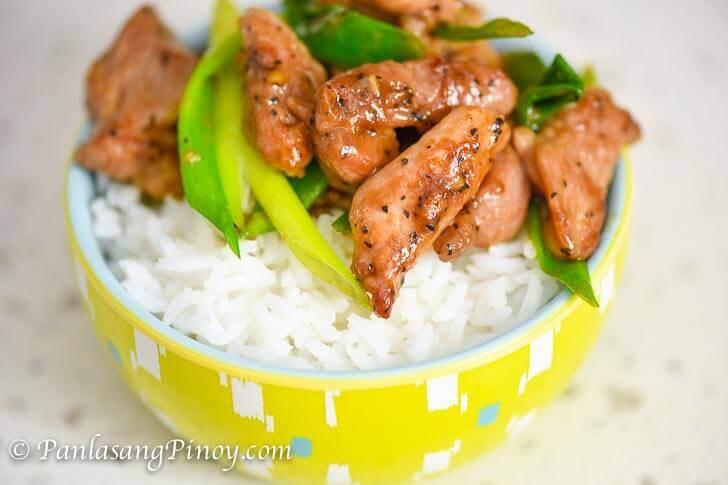 Pork and Scallion Stir Fry Recipe