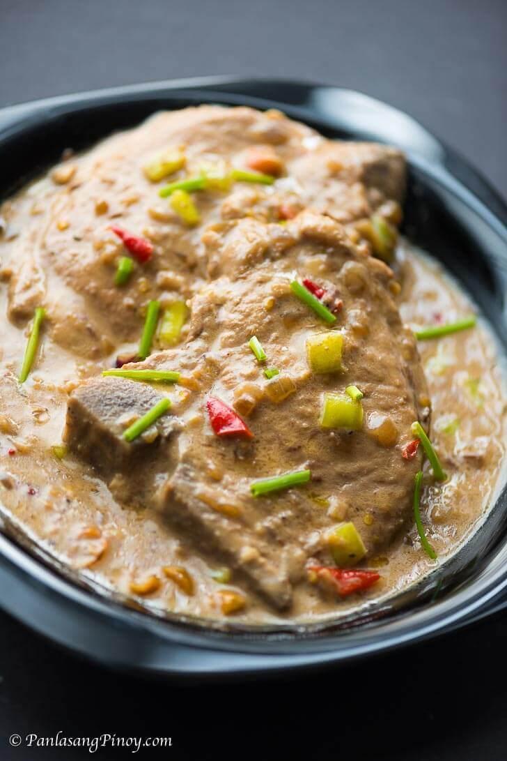 Pork Chop Bicol Express - Panlasang Pinoy